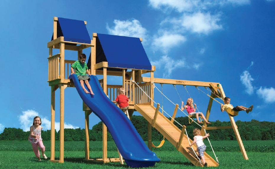 A Frame Swing Set ...